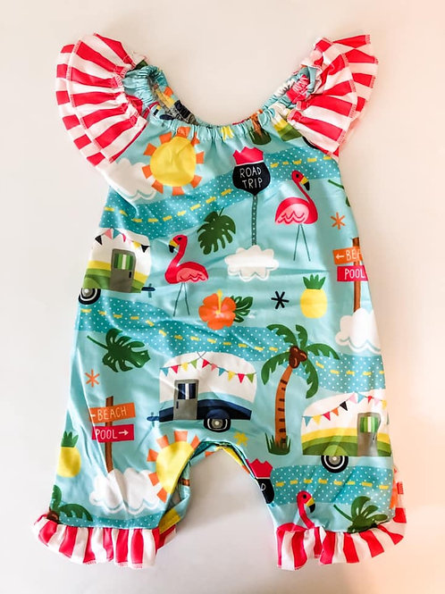 Going on Vacation Romper