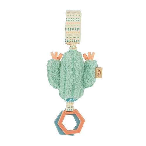 Ritzy Jingle Cactus Attachable Travel Toy