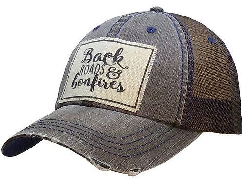 Back Roads & Bonfires Trucker Hat