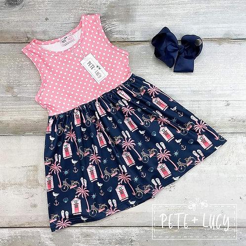 Beachy Flair Dress