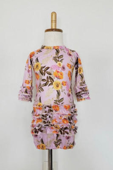 Posies Baby Gown
