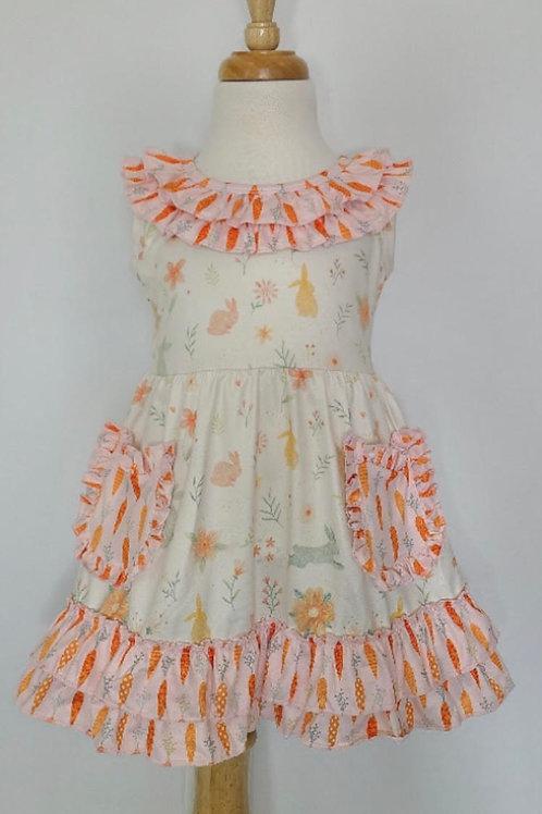 Carrots + Bunnies Dress
