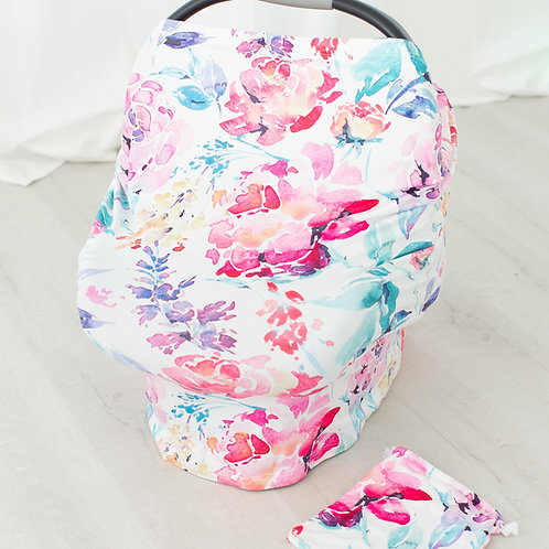 Flora Car Seat Canopy/Nursing Cover