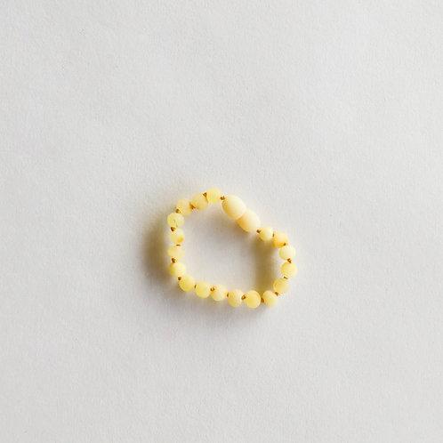 Raw Butterscotch Amber Anklet/Bracelet