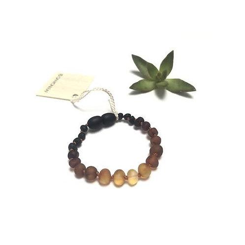 Raw Ombre Amber Anklet/Bracelet