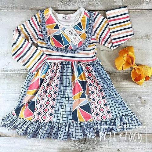 Gorgeous Geo Dress (size 3t)