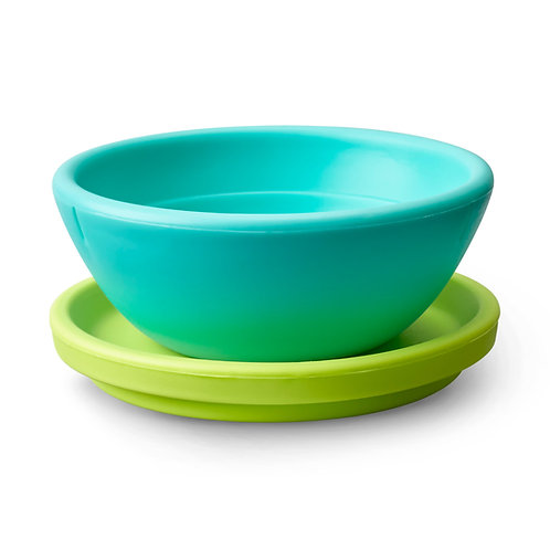 Bowl + Plate Set- silicone