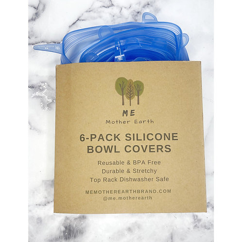 Silicone Bowl Covers-6 pack