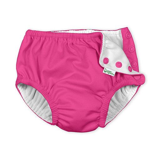 Hot Pink  Swim Diaper
