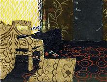 Fontanka (Foyer), 5.5iin x 7.25in, fabri