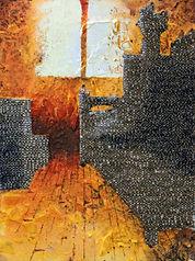Fontanka (Small room), 7.5inx 5.5in, acr