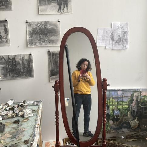 Studio Visit with VERA ILIATOVA
