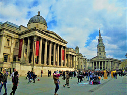 The National Gallery, St Martin-in-the-Fields Trafalgar Square, London