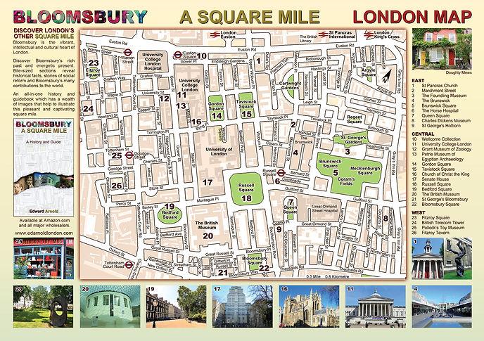 London Bloomsbury free map
