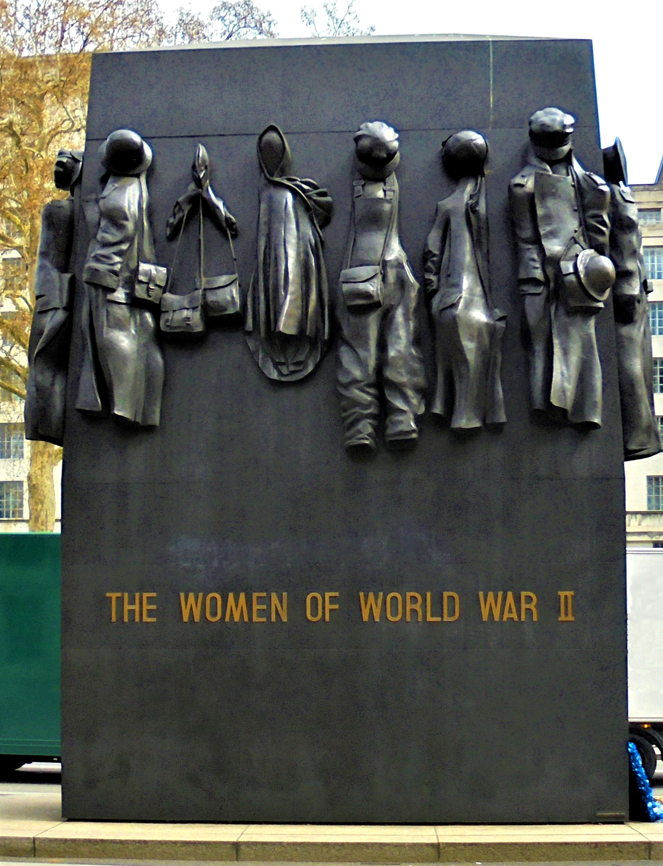 Monument to the Women of World War II, Whitehall Westminster London