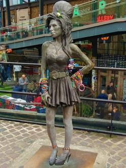 Amy Winehouse statue Camden Market