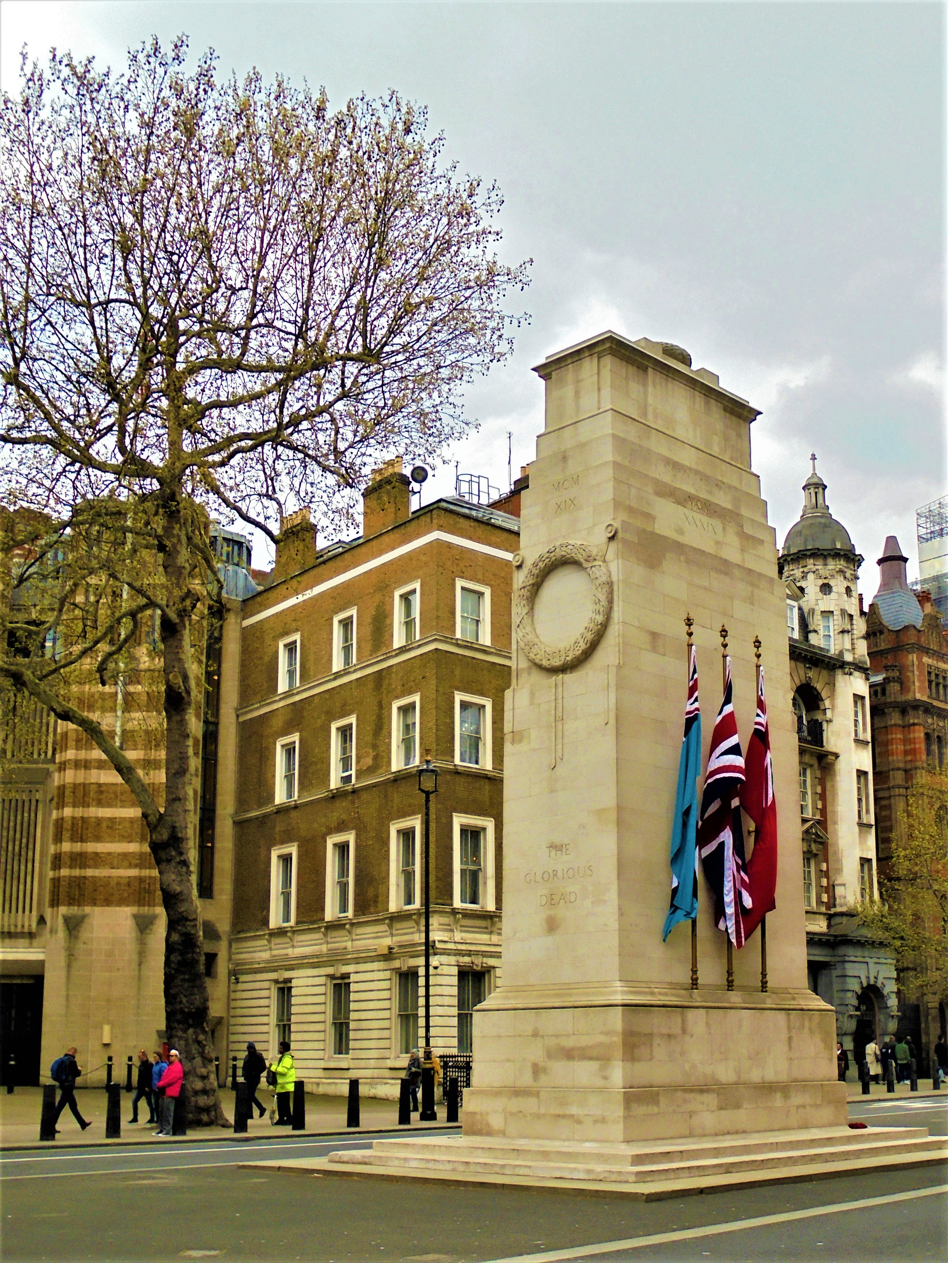 The Cenotaph, Whitehall, Westminster, London