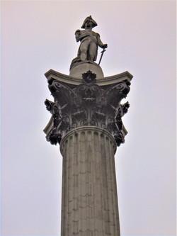 Nelson's Column Close-Up, Trafalgar Square London