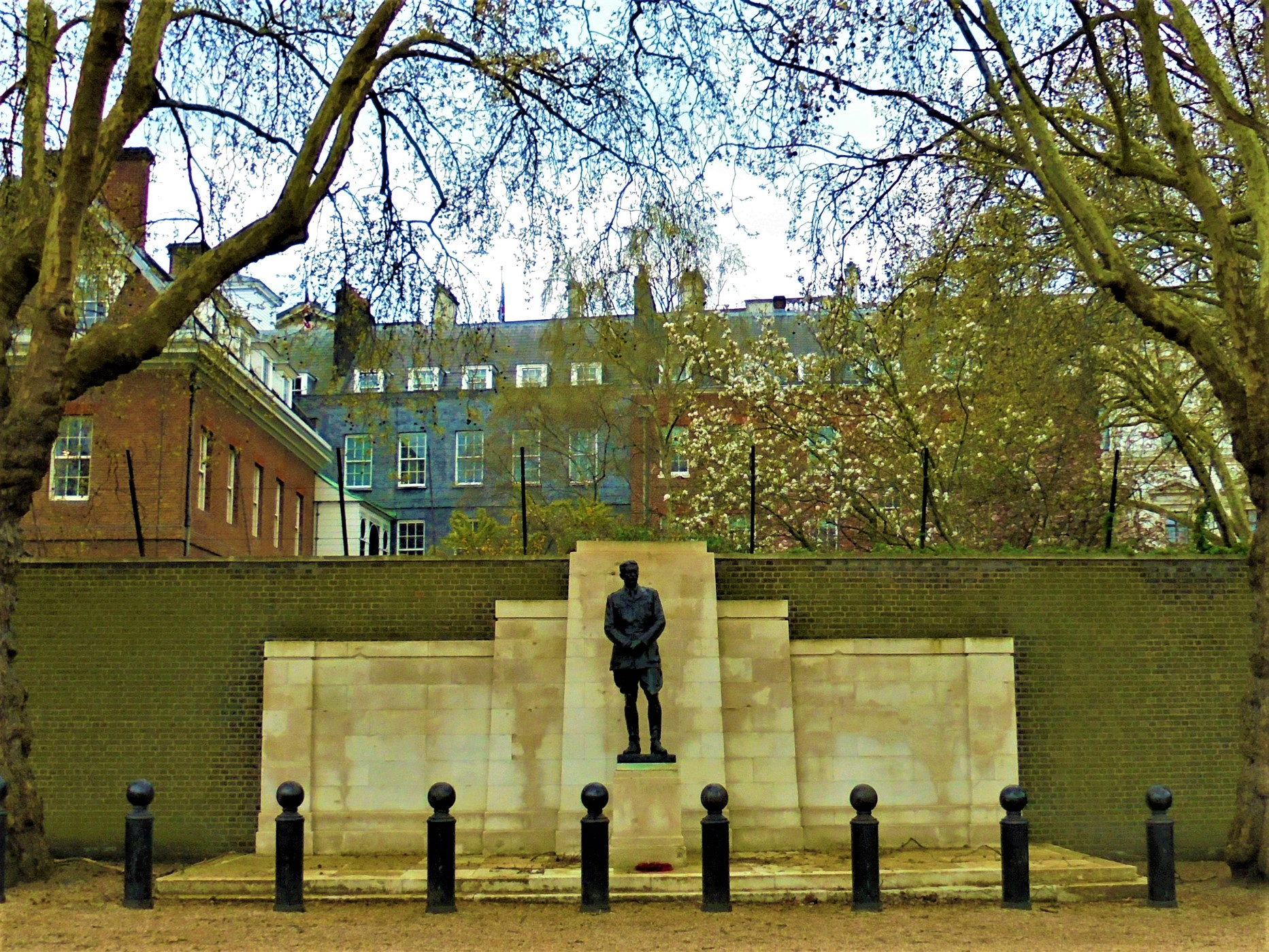 Horse Guards Parade, Kitchener Statue, Whitehall Pl, Westminster, London