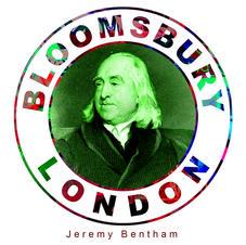 Jeremy Bentham (1748–1832) Line engraving by C. Fox, 1838, Bloomsbury London