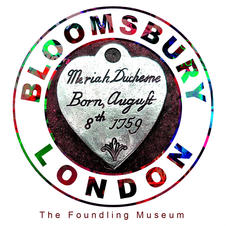 Marchmont Street Tokens, the Foundling Museum, Bloomsbury London