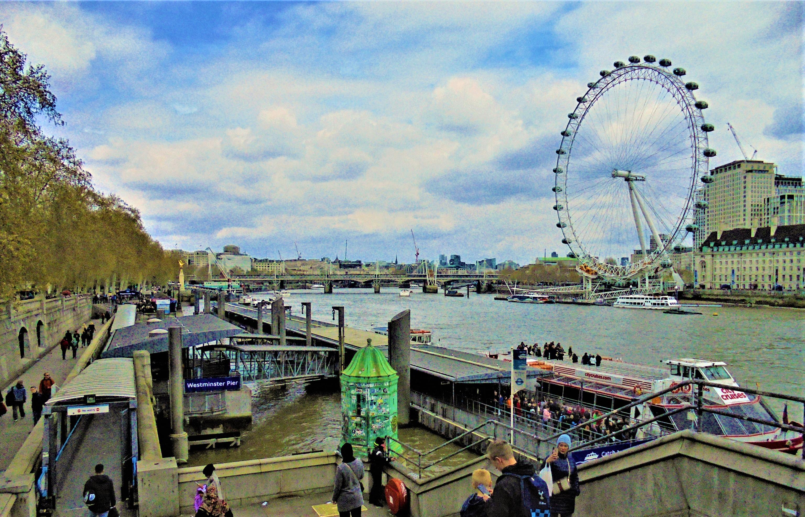 Westminster Pier, Westminster, London