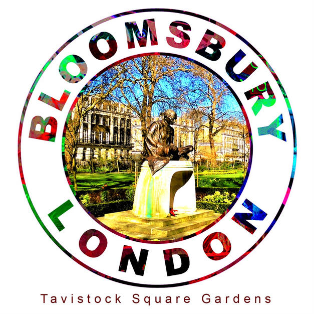 Tavistock Square Gardens, Bloomsbury London