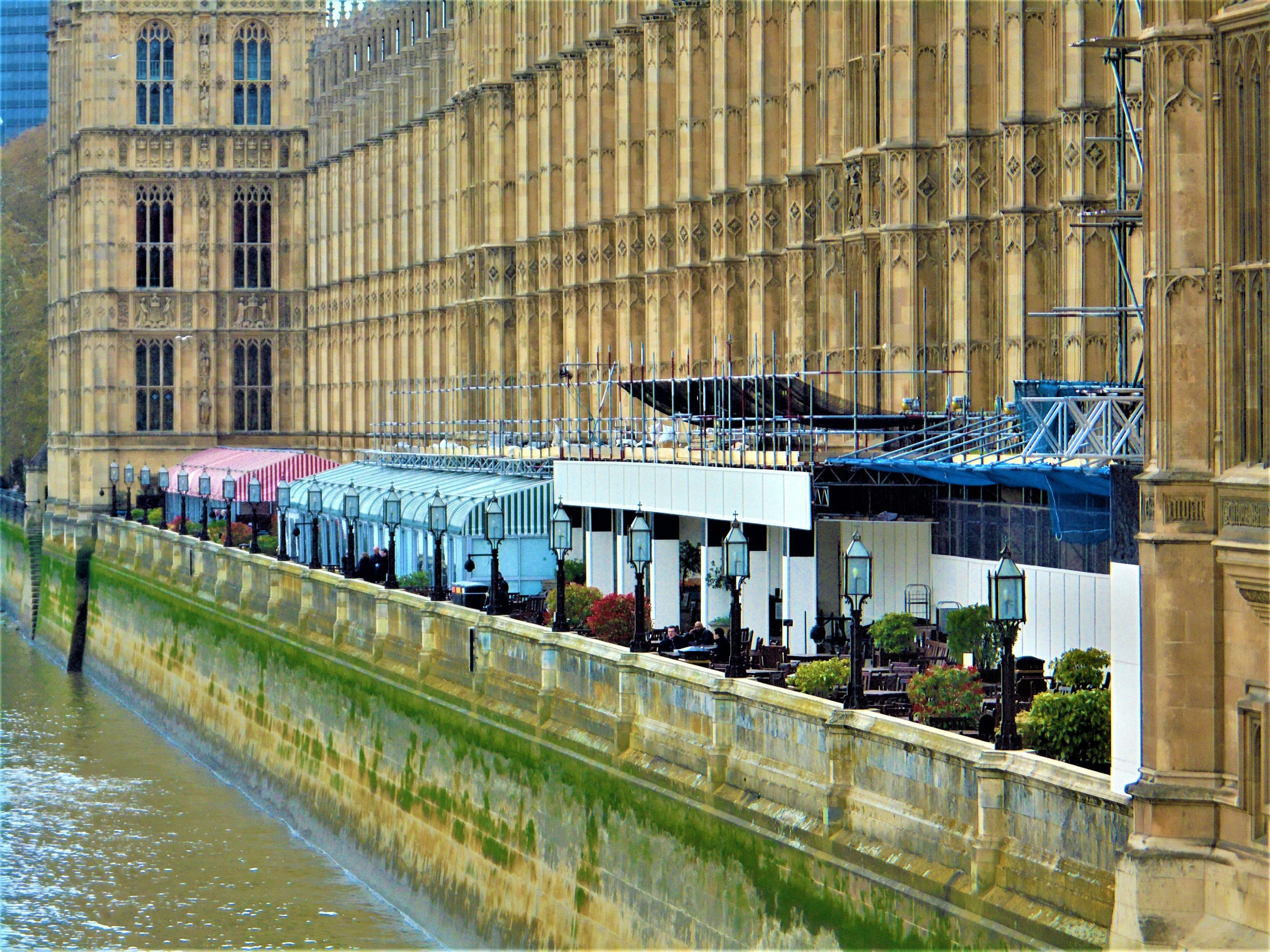Terrace Pavilion, House of Commons, Houses of Parliament, Westminster, London