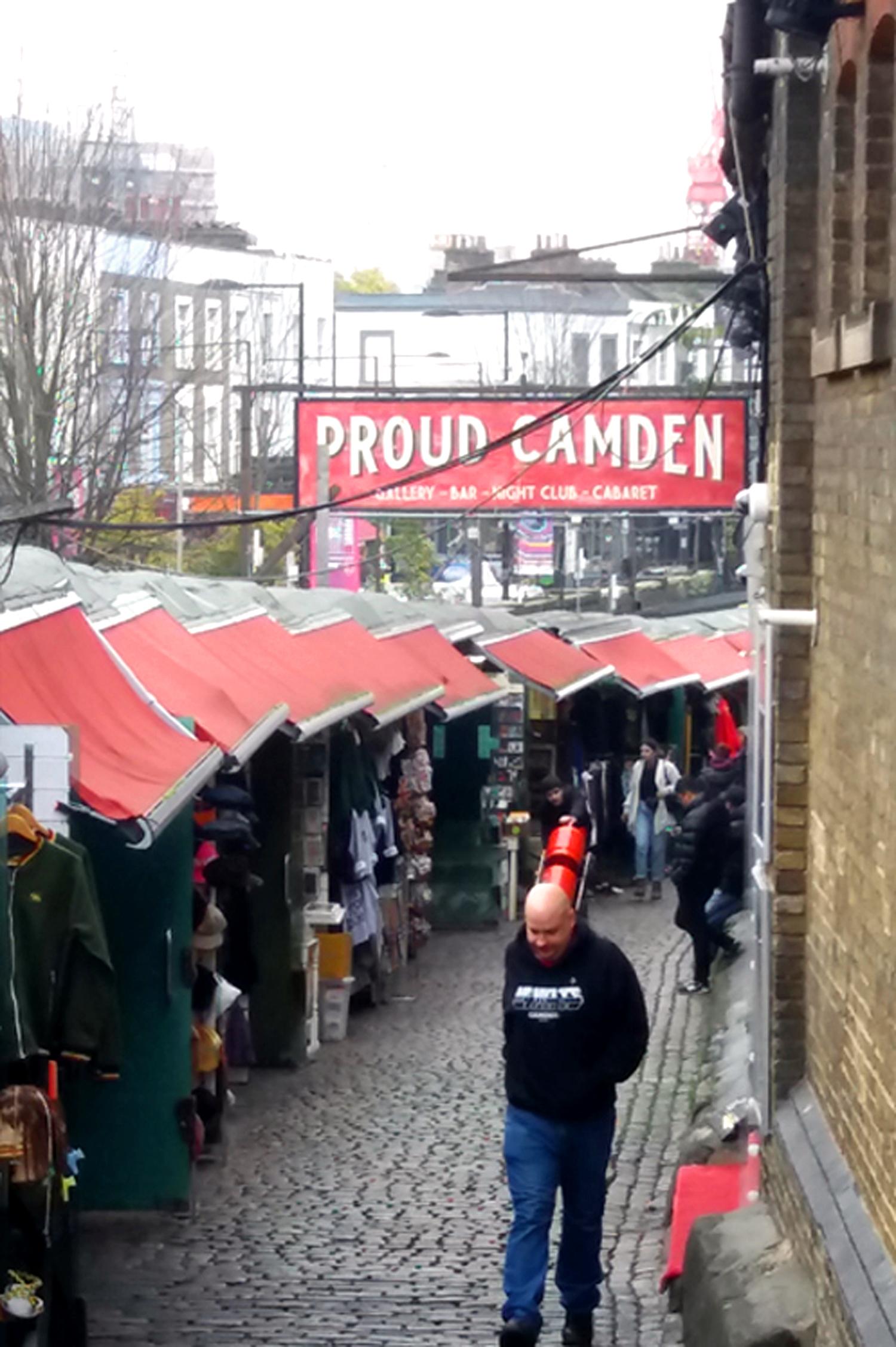 Camden Market, Camden Lock, London