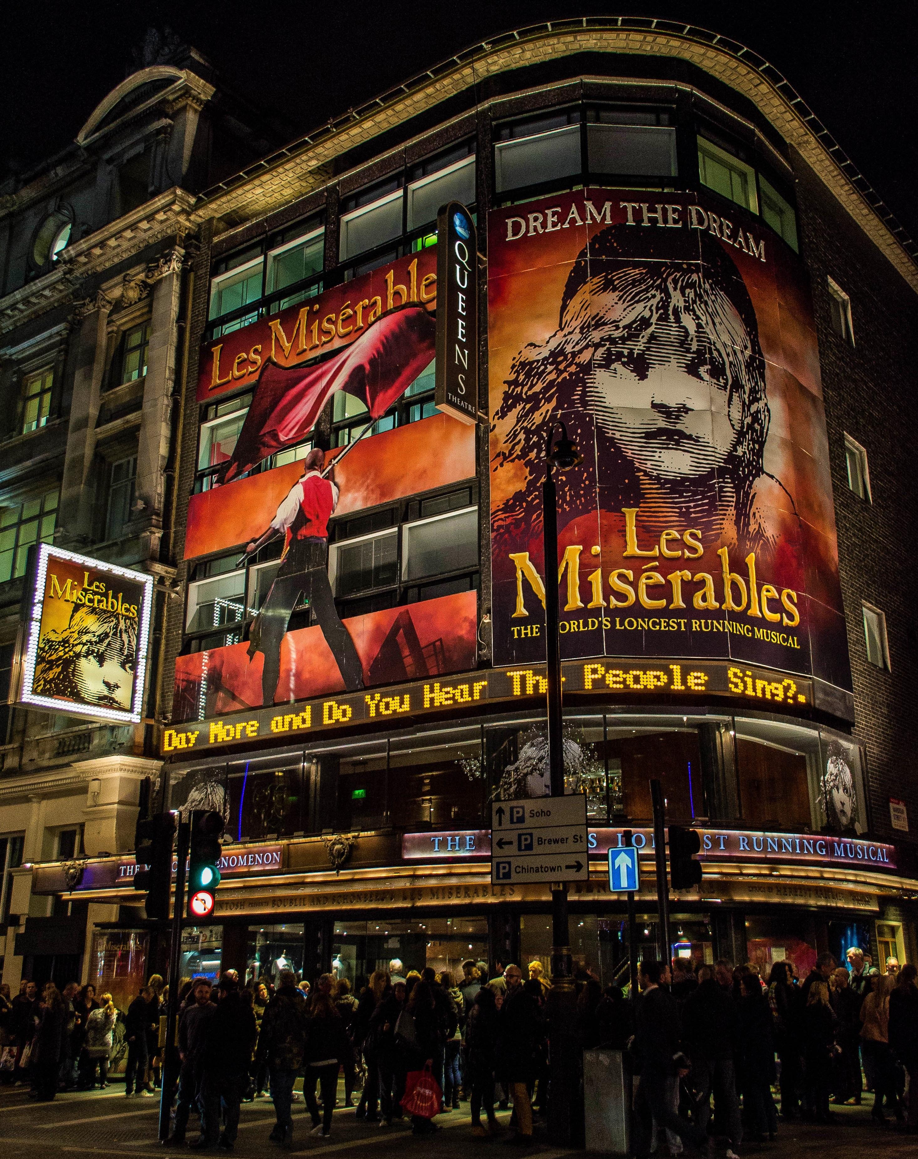 London's West End Sondheim Theatre