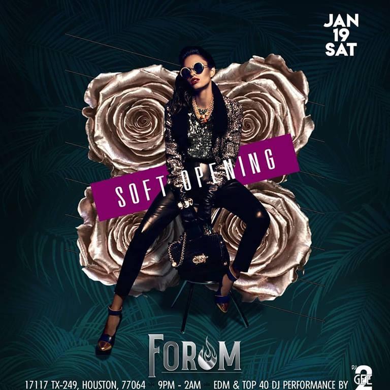 Soft Opening | 01/19/2019