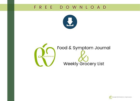 IBS Food & Symptom Journal