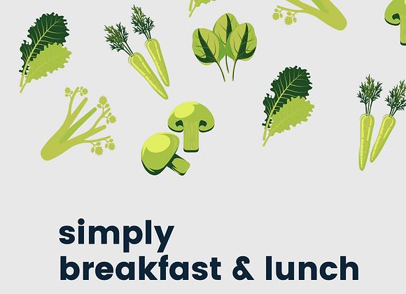 Simply Breakfast & Lunch Recipe E-Book