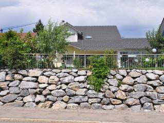 Natursteinmauer Hombrechtikon
