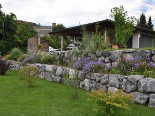 Natursteinmauer Rüti ZH