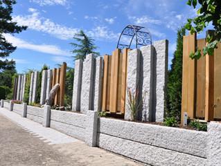 Sichtschutzmauer Hombrechtikon