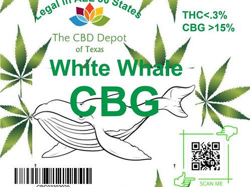White Whale CBG Flower