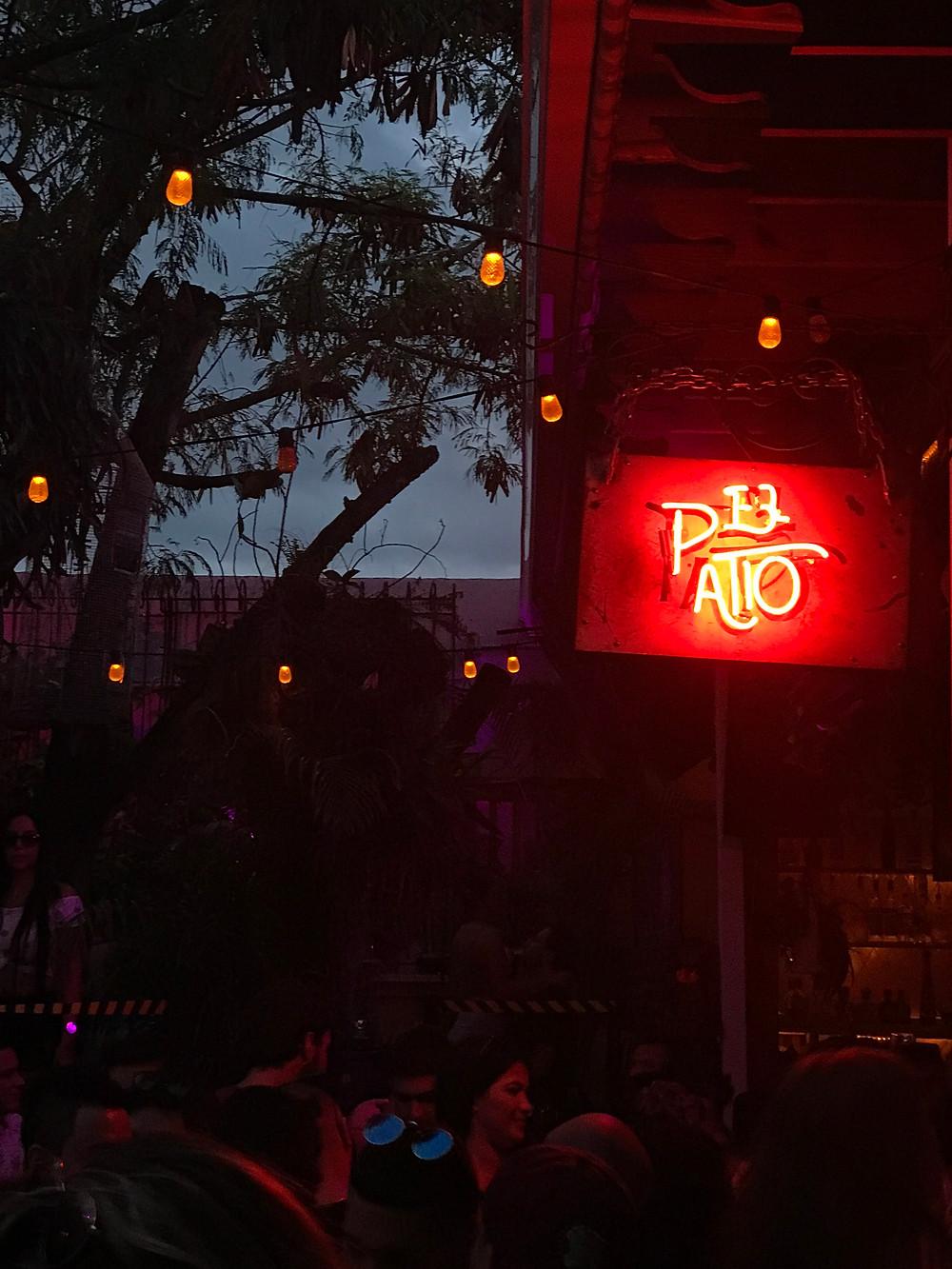 El Patio, Wynwood sign
