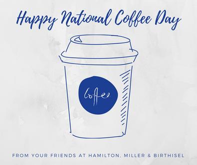 National Coffee Day, HM&B