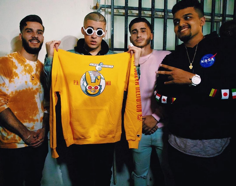 Bad Bunny and CNFDNT