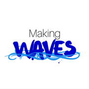 Making Waves, logo created for the first ever TEDxUMiami, 2017.