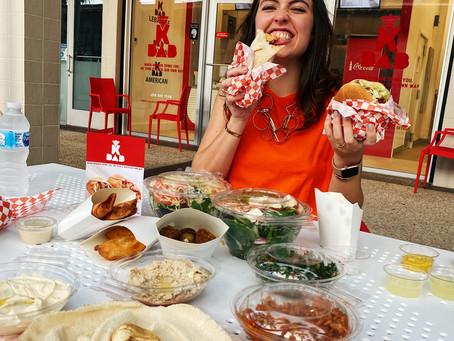 Masks on at KBab: The Falls Newest Mediterranean Restaurant