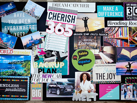 How to Make a Vision Board on Pinterest