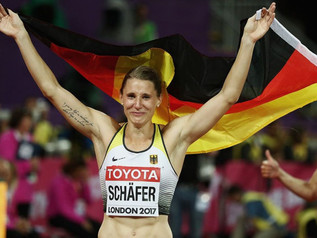 Carolin SCHÄFER (GER) remporte le challenge IAAF 2017 des épreuves combinées !