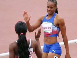 Adriana RODRIGUEZ bat son record personnel avec 6 304 points à La Havane (CUB).
