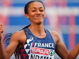 Championnats d'Europe 2019 (1/5): Record des championnats pour Solène NDAMA (FRA) sur 60 m haies