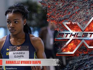 X-ATHLETICS 2020 : Meilleure performance mondiale de l'année pour Annaelle NYABEU DJAPA (FRA) !