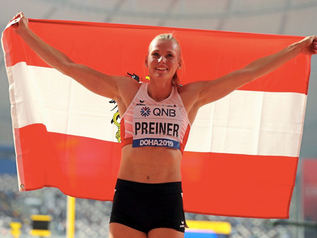 Verena PREINER (AUT) remporte le challenge IAAF des épreuves combinées 2019 !
