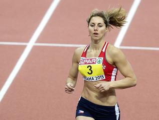 Eliska KLUCINOVA (CZE), royale à Madrid (ESP) avec 4 580 points.