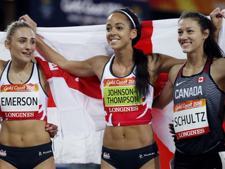 K. JOHNSON-THOMPSON (ENG) couronnée aux Jeux du Commonwealth !
